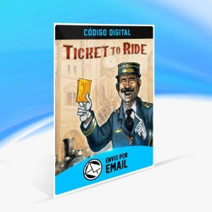 Ticket to Ride - Xbox One Código 25 Dígitos
