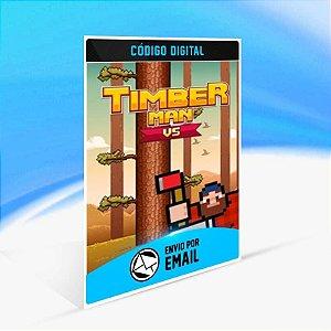 Timberman VS - Xbox One Código 25 Dígitos