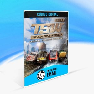 Train Sim World® 2020 Deluxe Edition - Xbox One Código 25 Dígitos