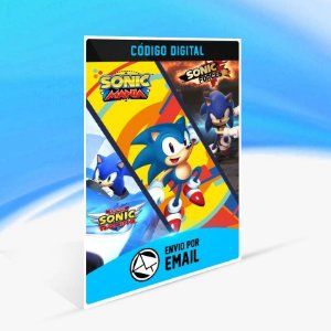 Ultimate Sonic Bundle - Xbox One Código 25 Dígitos