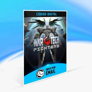 War Tech Fighters - Xbox One Código 25 Dígitos