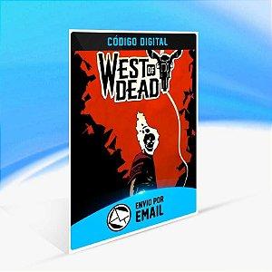 West of Dead - Xbox One Código 25 Dígitos