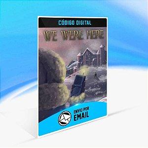 We Were Here - Xbox One Código 25 Dígitos