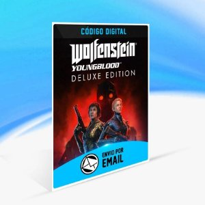 Wolfenstein: Youngblood Deluxe Edition - Xbox One Código 25 Dígitos