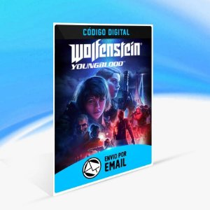 Wolfenstein: Youngblood - Xbox One Código 25 Dígitos
