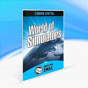World of Simulators Bundle - Xbox One Código 25 Dígitos