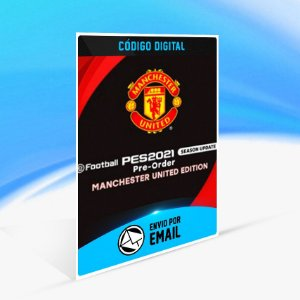 PES 2021 SEASON UPDATE MANCHESTER UNITED EDITION PS4 - KEY