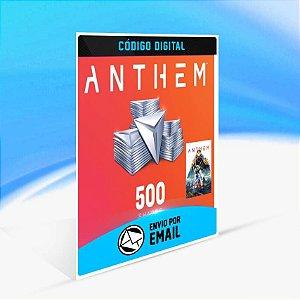 Anthem - Pacote de 500 níqueis ORIGIN - PC KEY