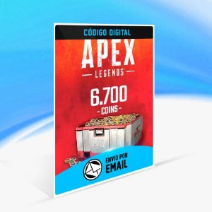 Apex Legends – 6.700 Moedas Apex ORIGIN - PC KEY