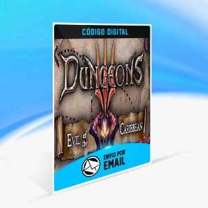 Dungeons 3 - Evil of the Caribbean ORIGIN - PC KEY