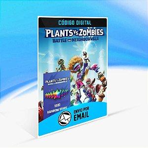 Plants vs. Zombies: Batalha por Neighborville - 5000 Estrelas Arco-íris (+1500 Extras**)  ORIGIN - PC KEY