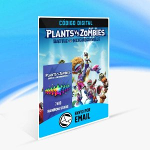 Plants vs. Zombies: Batalha por Neighborville - 7500 Estrelas Arco-íris (+2500 Extras**)  ORIGIN - PC KEY