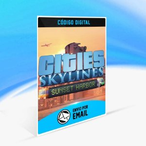 Cities: Skylines - Sunset Harbor ORIGIN - PC KEY