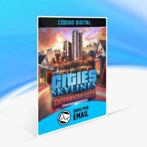 Cities: Skylines - Content Creator Pack: University City ORIGIN - PC KEY