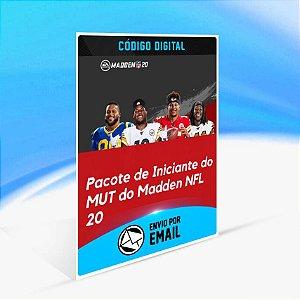 Pacote de Iniciante do MUT do Madden NFL 20 ORIGIN - PC KEY