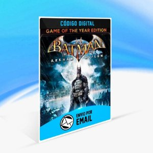 Batman: Arkham Asylum Game of the Year Edition ORIGIN - PC KEY