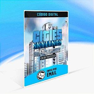 Cities: Skylines - Content Creator Pack: High-Tech Buildings ORIGIN - PC KEY