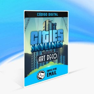 Cities: Skylines - Content Creator Pack: Art Deco ORIGIN - PC KEY