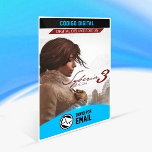 Syberia 3 Complete Journey Edição Deluxe ORIGIN - PC KEY
