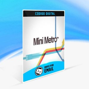 Mini Metro ORIGIN - PC KEY