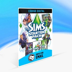 The Sims 3 Pacote Inicial ORIGIN - PC KEY