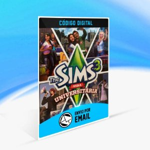The Sims 3 Vida Universitária ORIGIN - PC KEY