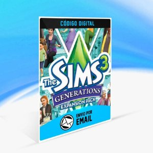 The Sims 3 Gerações ORIGIN - PC KEY