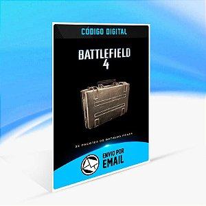 Battlefield 4 - 3x Pacotes de Batalha Prata ORIGIN - PC KEY