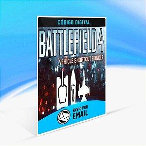 Battlefield 4 - Pacote de atalhos de veículos ORIGIN - PC KEY