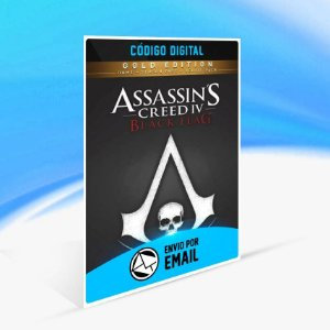 Assassin's Creed IV Black Flag Edição Ouro ORIGIN - PC KEY