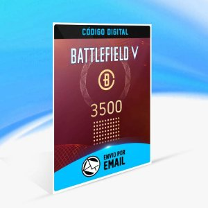 Battlefield V - 3.500 moedas de Battlefield ORIGIN - PC KEY