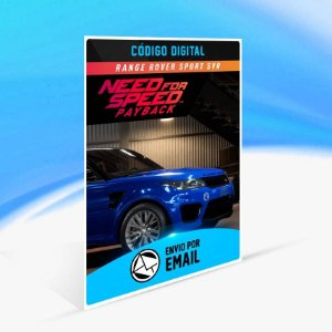 Need for Speed Payback: Range Rover Sport SVR ORIGIN - PC KEY