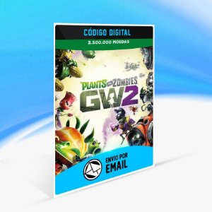Pacote de 2.500.000 Moedas de PvZ Garden Warfare 2 ORIGIN - PC KEY
