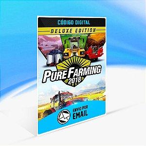 Pure Farming 2018 - Deluxe Edition STEAM - PC KEY