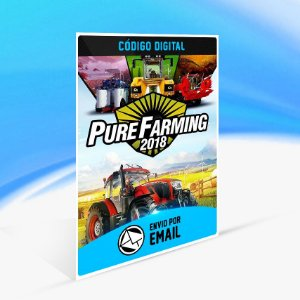 Pure Farming 2018 STEAM - PC KEY