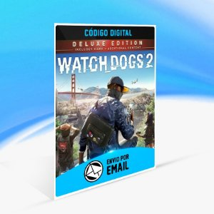 Watch Dogs 2  Deluxe Edition UPLAY - PC KEY