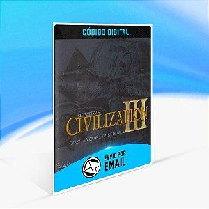 Sid Meier's Civilization III Complete Edition STEAM - PC KEY