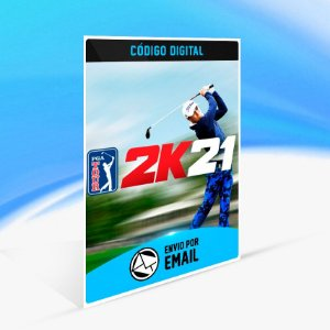 PGA TOUR 2K21 Digital Deluxe - Nintendo Switch Código 16 Dígitos