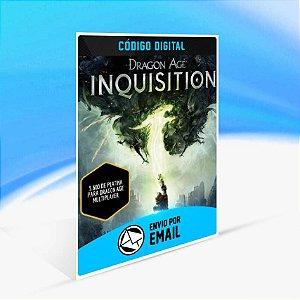 Pacotes Multiplayer Platinum de Dragon Age Inquisition - 5.600 de platina para Dragon Age multiplayer ORIGIN - PC KEY