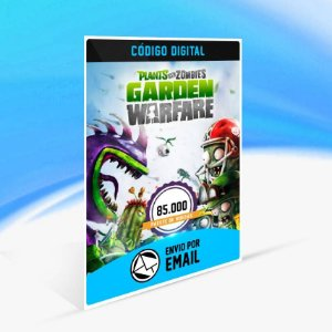 Pacote de 85.000 moedas do Plants vs. Zombies Garden Warfare ORIGIN - PC KEY