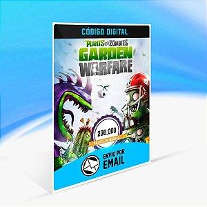 Pacote de 200.000 moedas do Plants vs. Zombies Garden Warfare ORIGIN - PC KEY