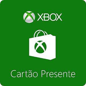 Cartão Microsoft Xbox Gift Card R$70 REAIS - BRASIL