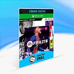 FIFA 21 Edição Standard Xbox One & Xbox Series - Código 25 Dígitos