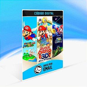 Super Mario 3D All-Stars - Nintendo Switch Código 16 Dígitos