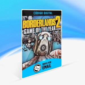 Borderlands 2 Game of the Year Edition STEAM - PC KEY