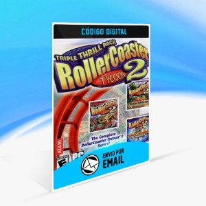 RollerCoaster Tycoon 2 Triple Thrill Pack STEAM - PC KEY