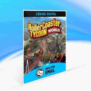 RollerCoaster Tycoon World STEAM - PC KEY