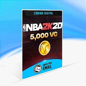 5000 VC - NBA 2K20 - Nintendo Switch Código 16 Dígitos