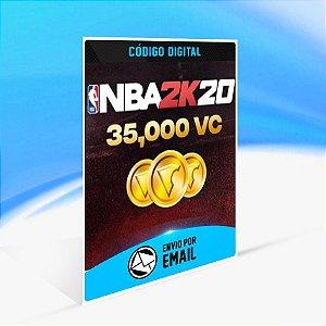 35000 VC - NBA 2K20 - Nintendo Switch Código 16 Dígitos