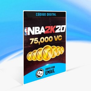 75000 VC - NBA 2K20 - Nintendo Switch Código 16 Dígitos